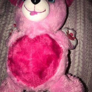 Fur berries teddy bear ball